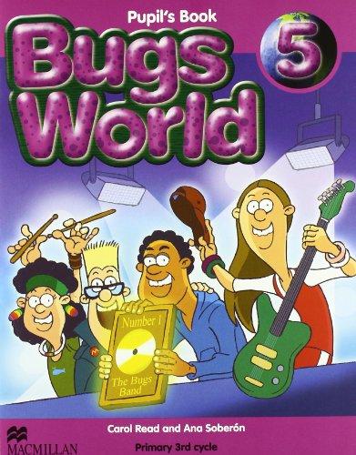 BUGS WORLD 5 Pb - 9780230719439