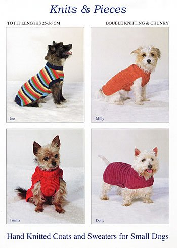 Knits   Pieces Knitting Pattern   Small Dog Coats and Sweaters ... 255112a34
