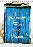 Griechische Türen und Fenster / CH-Version (Tischkalender 2018 DIN A5 hoch): Fotografiert in Korfu und Kreta (Monatskalender, 14 Seiten ) (CALVENDO Orte)