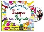 Mes comptines en langue des signes (1DVD) de Rémi Guichard