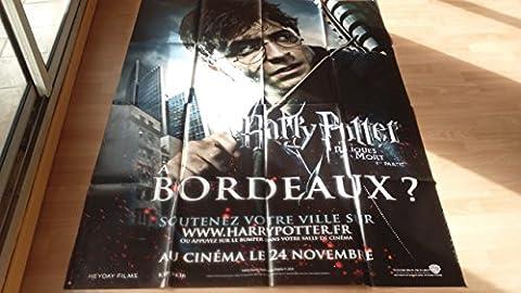 Affiche Cinéma Originale Grand Format - Harry Potter Et Les Reliques De La Mort : Partie 1 (format 120 x 160 cm pliée)