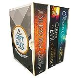 Cormoran Strike Series Robert Galbraith Collection 3 Books BOX SET Collection (The Cuckoo's Calling, The Silkworm: 2, Career of Evil)