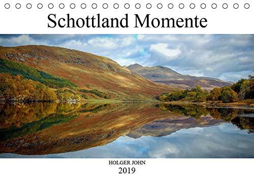 Schottland Momente (Tischkalender 2019 DIN A5 quer): Besondere Momente Schottlands in...