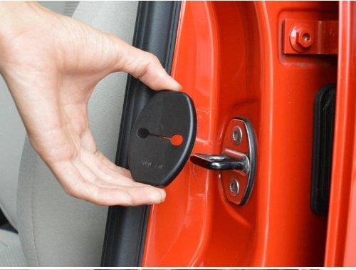 Preisvergleich Produktbild 4 X Türschloss Protective Cover Kit für VW Golf MK6 SCIROCCO POLO CC Audi Q3 Q5