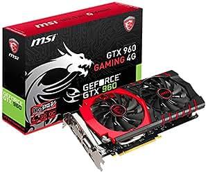 MSI GTX 960 GAMING 4G NVIDIA GeForce GTX 960 4GB