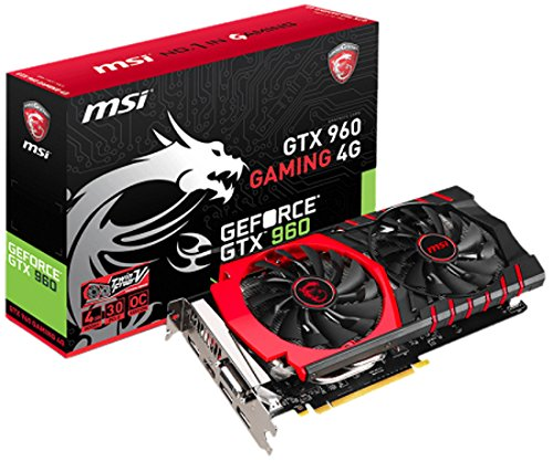 MSI GTX 960 GAMING 4G NVIDIA GeForce GTX 960 4GB
