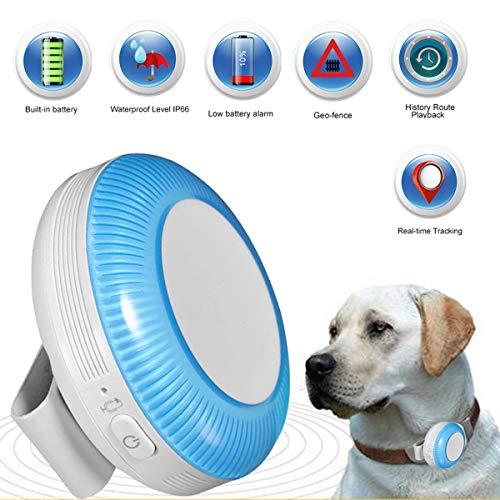 Zeerkeer Mini GPS Tracker for Pet, GPS/LBS/WiFi monitoreo en Tiempo Real con...