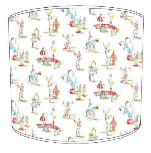 Premier Lampenschirme - Durchmesser 25cm Cath Kidston Circus Kinderlampenschirme (Circus Lampenschirm)