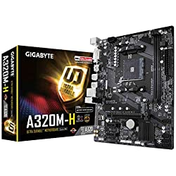 Gigabyte GA-A320M-H Carte mère AMD Socket AM4
