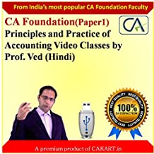 CA Foundation Principles and Practices of Accounting by Prof. Ved (Hindi)