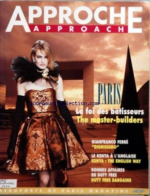approche-approach-no-1-du-01-09-1991-paris-la-foi-des-batisseurs-the-master-builders-gianfranco-ferr