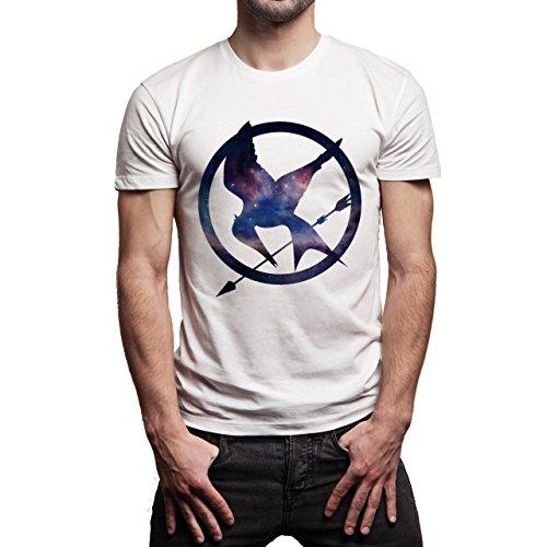 The-Hunger-Games-Mockingjay-Space-Mockingjay-Layer-0.jpg Herren T-Shirt Weiß
