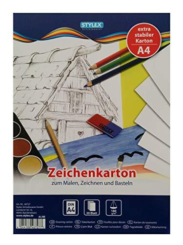 Stylex STYLEX-46727, Papier, weiß, 30 x 21 x 1 cm