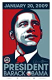 Barack Obama Poster (24 x 36 Inches - 61cm x 92cm) (2008) 24 x 36 - 2009 Commemorative Poster with Presidential Seal