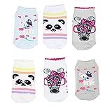 TupTam Unisex Kinder Socken Bunt Gemustert 6er Pack, Farbe: Kurzsocken Mädchen, Größe: 27-30