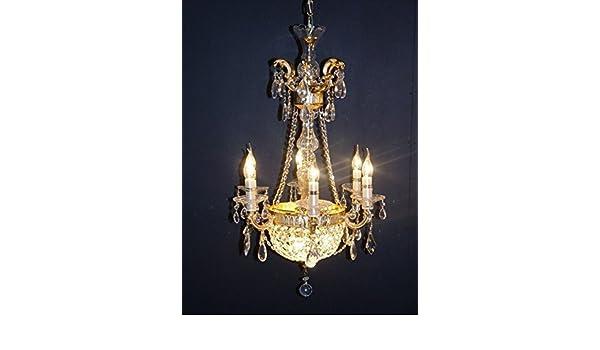 Kronleuchter Franske ~ Barock deckenlampe kronleuchter gold leuchten lampen antik repro