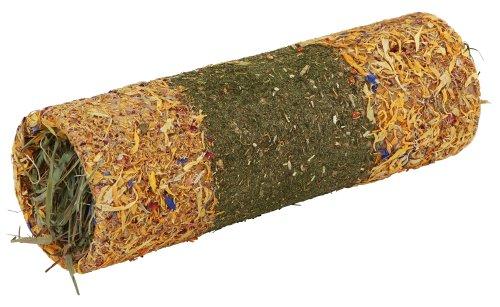 Kerbl Native Snacks Kräutertunnel L gefüllt, 30 x 21 cm, 1er Pack (1 x 0.55 kg)