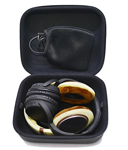 Nbbox Headphone Full Size Hard Carrying Case / Travel Bag with Space for Cable