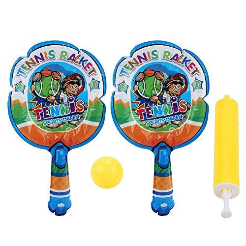 VGEBY1 Raqueta de bádminton Niños,Raqueta Inflable para niños, Badminton Niños Raquetero Tenis Racket Raqueta de Juguete Deportivo Bádminton Playa al Aire Libre