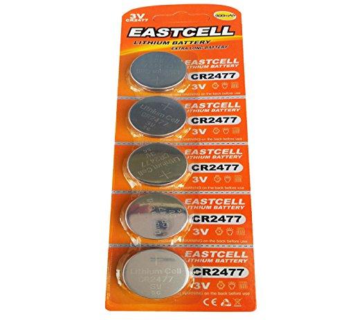 5x CR24773V de litio recargable 900mAh (1blíster ercard 5pilas)–eastcell–Producto de marca