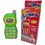 Learning Mobile Phone Toy For Kids With Image Projection, Multi Color