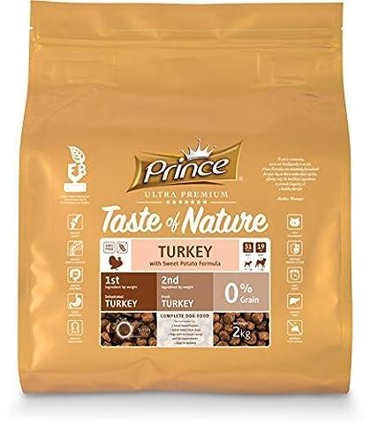 Prince Ultra Premium Croquettes Taste of Nature dinde & Patate Douce