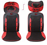 SHISHANG Großer Massagestuhl (zervikaler. Hals. Zurück. Taille. Hips) Massage Pad Multi-Funktions-elektrische Massagekissen Vibrationsmassage einstellbar Geschenk Gewicht 9 kg Verwendung Zeit 15 Minuten