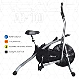 Reach AB-100 Air Bike Exercise Cycle with Moving Handles, Adjustable Cushioned Seat, Best