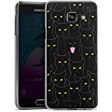 Samsung Galaxy A3 (2016) Housse Étui Protection Coque Chat Motif Motif