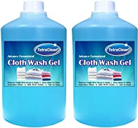 TetraClean Premium Cloth Liquid Detergent - Disinfectant Cloth Washing Liquid cum Stain Remover with Advanced Formula - 2 Liters