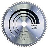 Bosch Pro Kreissägeblatt Optiline Wood zum Sägen in Holz für Kapp- und Gehrungssägen (Ø 254 mm)