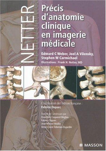 Netter. Précis d'anatomie clinique en imagerie médicale