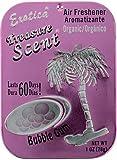 Treasure Scent Bubble Gum Exotica Treasure Scent Bubble Gum Air Fresheners 28 g,Multicolor