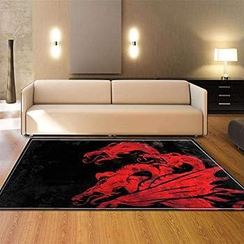 ASKSWF Tapis de Sol Home Door Mat Caution Angry Gamer Doormat Door Mats Entrance Rugs Anti Slip 4060 for Indoor Outdoor