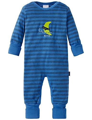 Schiesser Baby-Jungen Zweiteiliger Schlafanzug Anzug mit Vario Blau (Blau 800), 86 (Herstellergröße: 086)