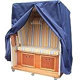 universal XXXL Premium Strandkorb Schutzhülle Strandkorbhülle Strandkorbhaube -- Blau --