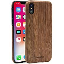 custodia in legno iphone x