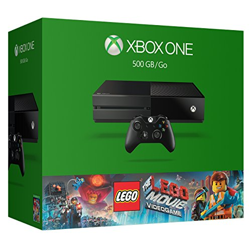 Xbox One 500GB Console - The LEGO Movie Videogame Bundle by Microsoft (Videogame Movie The Xbox One Lego)