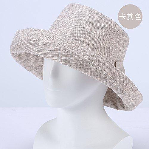 LLZTYM Chapeau/Femme/Été/Pliant/Suncap/Femme/Anti Uv/Grand Bord/Crème Solaire/Cap Soleil/Cadeau E