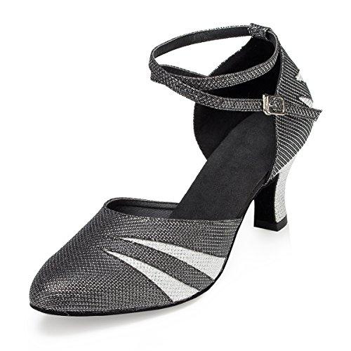 Miyoopark - Ballroom donna Black-7cm Heel