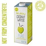 6x Kulau Bio Kokoswasser Pure 1.000ml Gesundheit Pur 100% Coconut !!