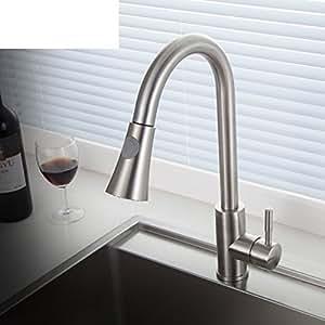 t lescopique tap le robinet d 39 vier m langeur eau chaude et froide a bricolage. Black Bedroom Furniture Sets. Home Design Ideas