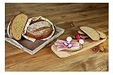 Hobbybäcker Emmer-Dinkelbrot Brotbackmischung, ✔Emmermehl und Dinkelmehl, ✔Goldbraune Kruste, Lockere Krume, 1 kg