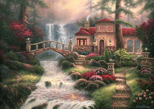 Grafika Puzzle 2000 pièces - Chuck Chuck Chuck Pinson - Sierra River Falls | Matériaux Soigneusement Sélectionnés  9670b0