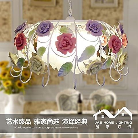 Ancernow E27 caldo creativo moda lampade a sospensione I fiori