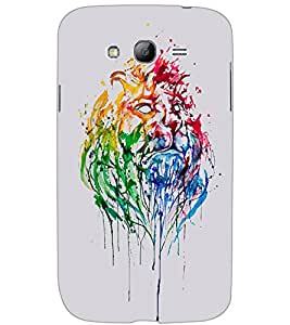 SAMSUNG GALAXY GRAND LION Back Cover by PRINTSWAG