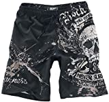 Rock Rebel by EMP Swimming Time Badeshort schwarz S