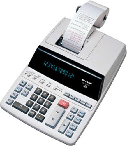 Sharp EL-2607PG druckender Tischrechner, Zeilendruck, Steuerberechnung, 12-stellig