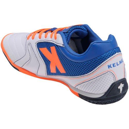 Kelme , Chaussures pour homme spécial foot en salle - Blanco-Royal