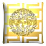 "18x18 18""x18"" 45x45cm car pillow cases covers Polyester - Cotton vividness Collection versace famous top?brand logo"